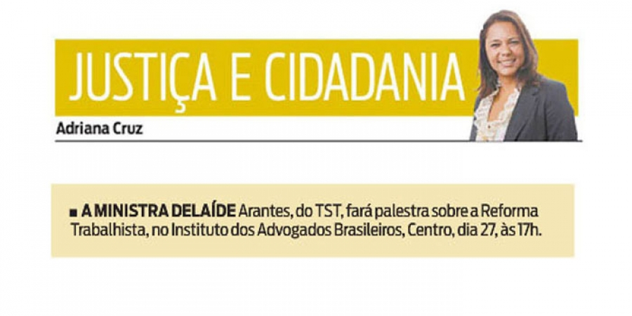 Ministra do TST no IAB